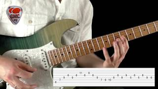 Extended Arpeggio Lick w/ tabs & backing
