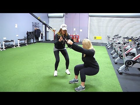Are you doing your Squat right using TRX®  straps? TRX® Squat Form Tips.