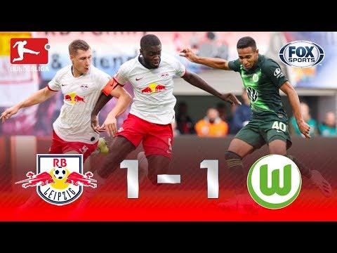 GOL DE WERNER E ASSISTÊNCIA BRASILEIRA! Melhores momentos de Leipzig 1 x 1 Wolfsburg