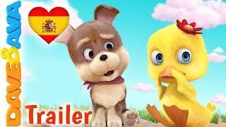 😂  Seis Patitos - Trailer | Videos para Bebés | Dave y Ava 😂