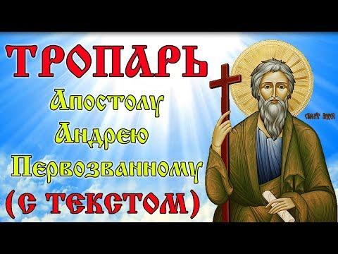 Тропарь Апостолу Андрею Первозванному (МОЛИТВА С ТЕКСТОМ)