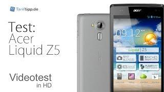 Acer Liquid Z5 | Test in deutsch (HD)
