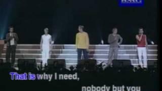 Westlife Karaoke - No No