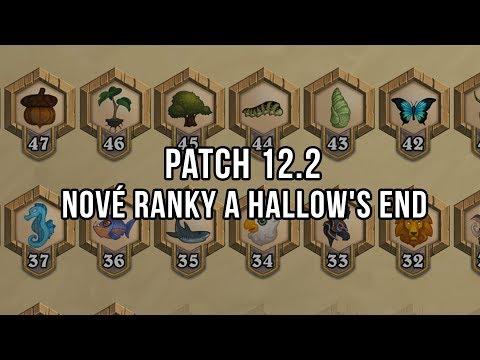 Patch 12.2 - Ranky pro nové hráče, Hallow's End a další