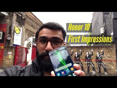 Honor 10 First Impressions by Nimish Sawant from London