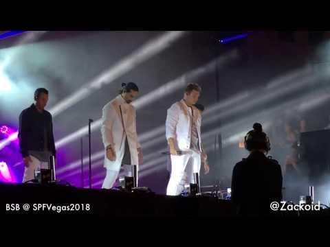"Backstreet Boys At Cosmopolitan Las Vegas ""dont Go Breaking My Heart"""