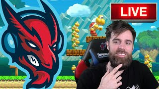 Super Mario Maker Live Stream (Calithon Prep)