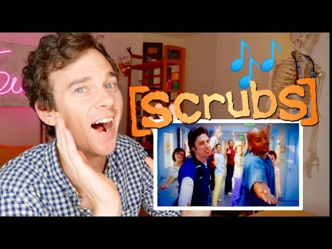 """SCRUBS """"My Musical"""" real DOCTOR reaction 