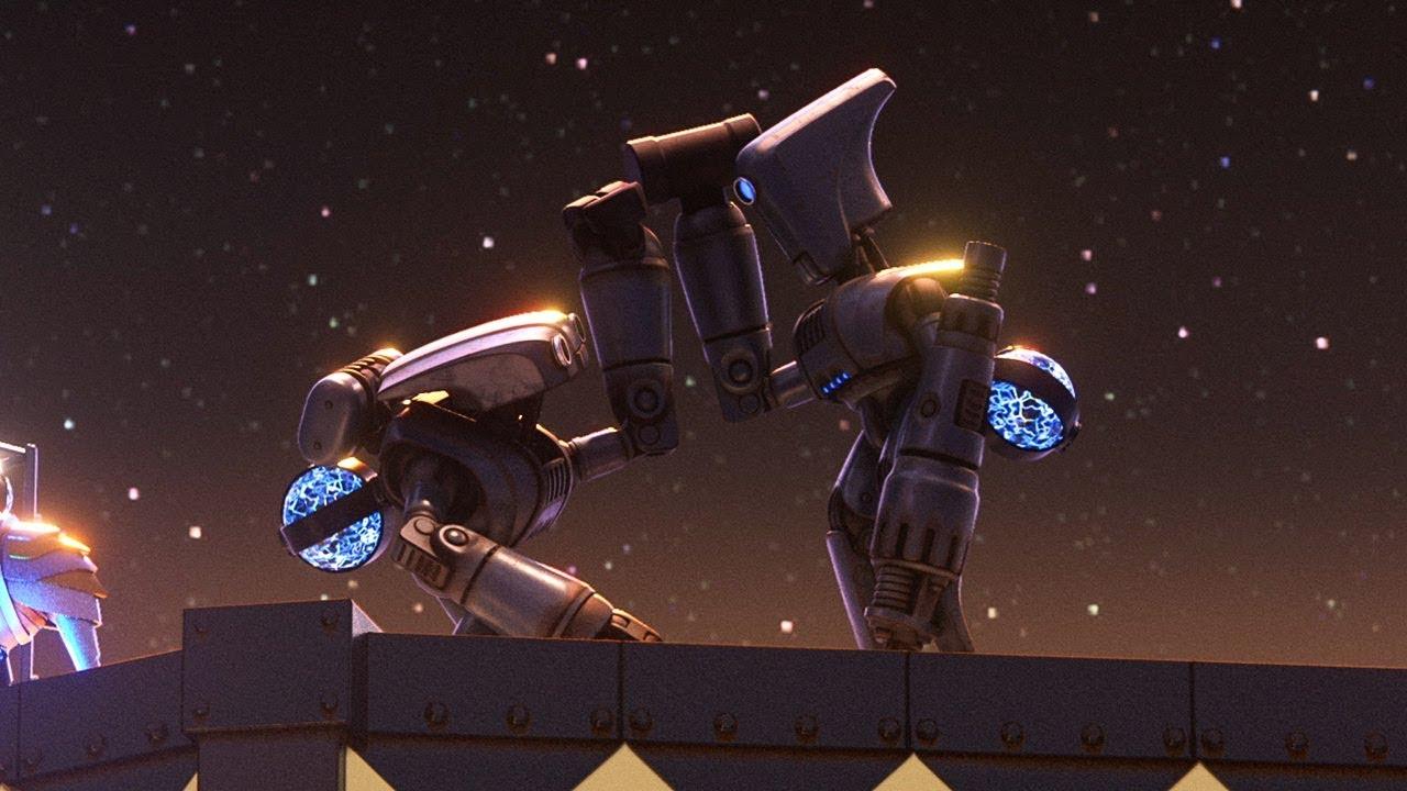 Разбойное нападение от Pixar