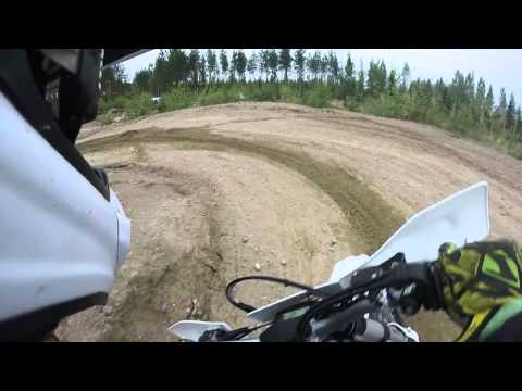 Husqvarna FE 250 2016 testday by Juha Salminen