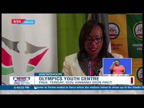 Nairobi County gives Olympics Kenya land to develop Youth centre for free