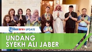 Rayakan Idul Fitri bersama Keluarga, Raffi Ahmad Undang Ulama Syekh Ali Jaber