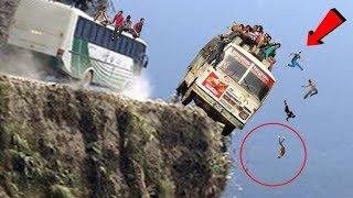 कैमरा में कैद हुआ ये सीन, सबसे खतरनाक रास्ते | Top Most Dangerous Roads