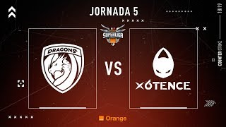 Dragons E.C. VS x6tence | Jornada 5 | Temporada 2018/2019