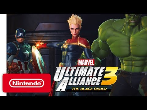 Annonce Nintendo Direct  de Marvel Ultimate Alliance 3: The Black Order