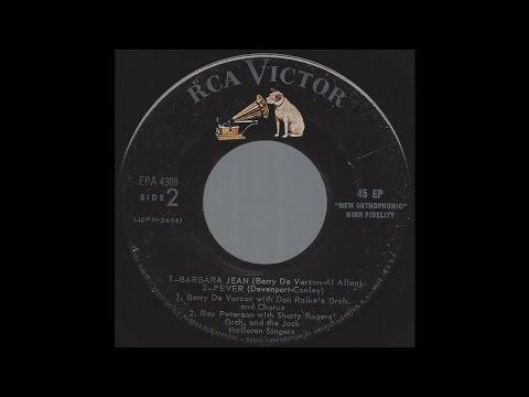 Barry De Vorzon - Barbara Jean - '57 Teen Pop on RCA Victor label
