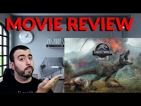 Jurassic World Fallen Kingdom Movie Review – Fun Dinosaur Action Movie