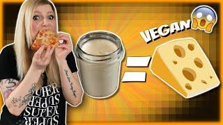 Wie du den besten veganen Pizzakäse selber machst! [schnell & einfach]
