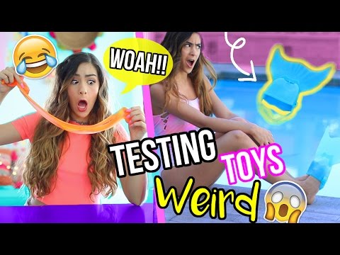 Testing WEIRD and CRAZY Kids Toys!!