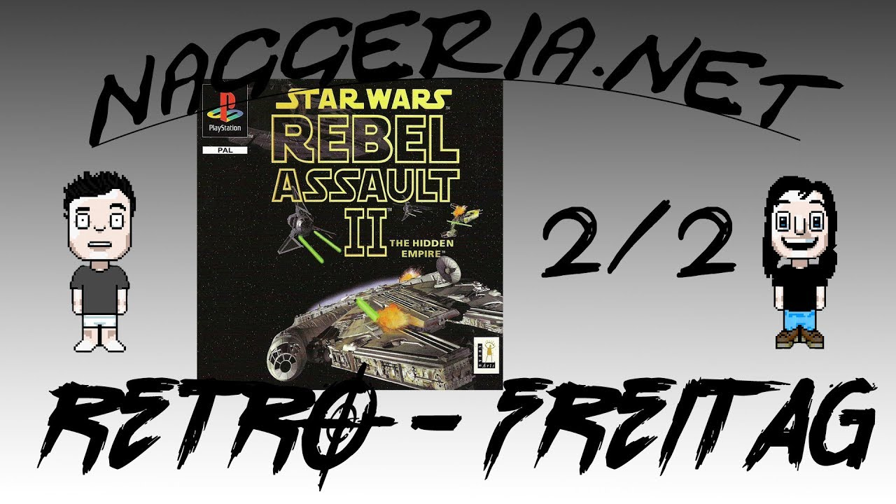 [Retro-Freitag] Star Wars: Rebel Assault 2 – Part 2/2 (Playstation)
