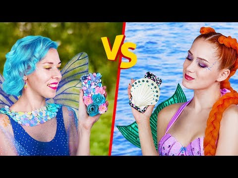 , title : '10 DIY Meerjungfrau vs Fee Lifestyle Ideen