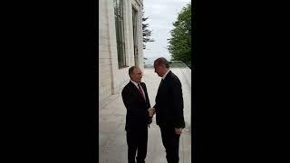 Прибытие Эрдогана в Сочи на встречу с Путиным