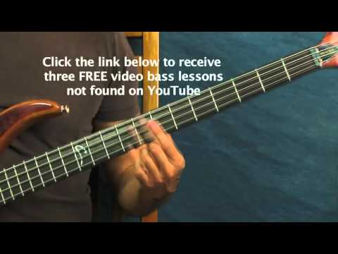 online bass guitar lesson come together the beatles paul McCartney