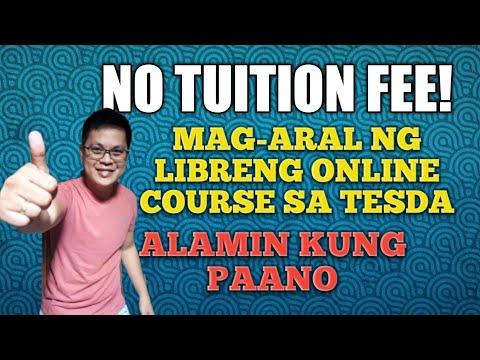 NO TUITION FEE | LIBRENG ONLINE COURSE TESDA | ALAMIN ...