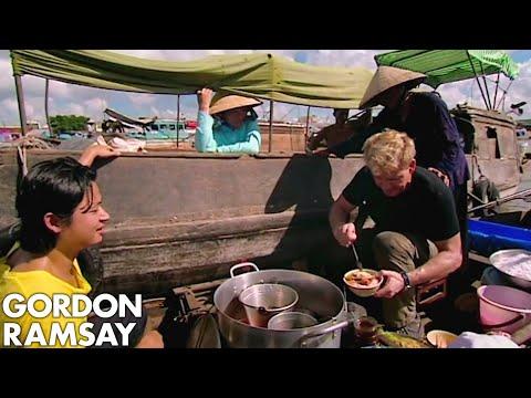 Gordon Ramsay Learns How To Prepare Vietnamese Soup | Gordon's Great Escape