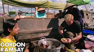 Gordon Ramsay Learns How To Prepare Vietnamese Soup | Gordon