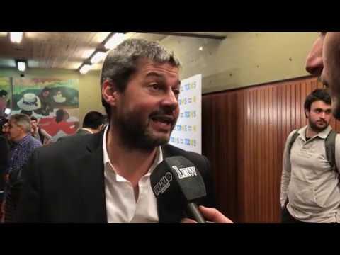 Alberto Fernández y Matías Lammens en Cs. Exactas de la UBA relanzaron la campaña porteña