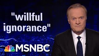 Rpt: Donald Trump Has 'Stubborn Disregard' For Intelligence Briefings | The Last Word | MSNBC