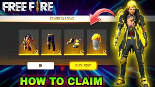 How To Claim Free Famine Felon Bundle || Free Fire New Event Rampage 2 Full Detail || RKG ARMY