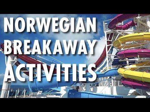 Norwegian Breakaway Tour & Review: Activities ~ Norwegian Cruise Line ~ Cruise Ship Tour & Review