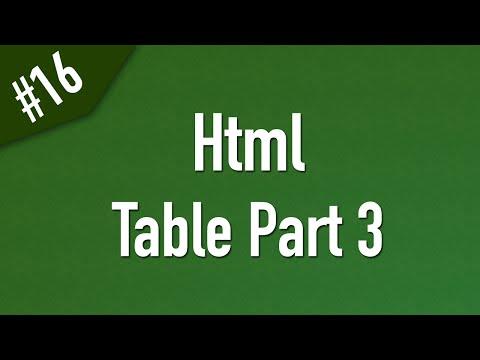 تعلم Html القائمة #1 الفديو #16