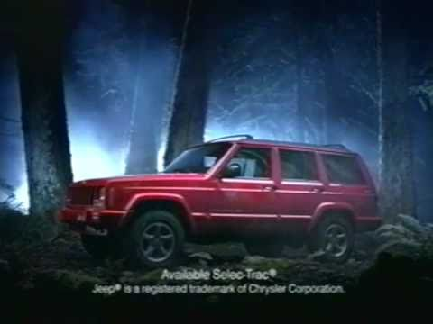 Screenshot of 1997 Jeep Cherokee Commercial