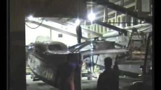 preview picture of video 'nitro catamaran launching Waitara 2010'