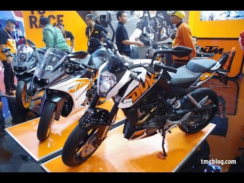 Review KTM Duke 200 GIIAS 2016