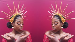 DIY: Halo Crown Fascinator || Quick And Easy Tutorial