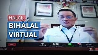 Halal Bihalal Virtual, Mensos Ajak Pegawai Kemensos Merenungkan Makna Pandemi Covid-19