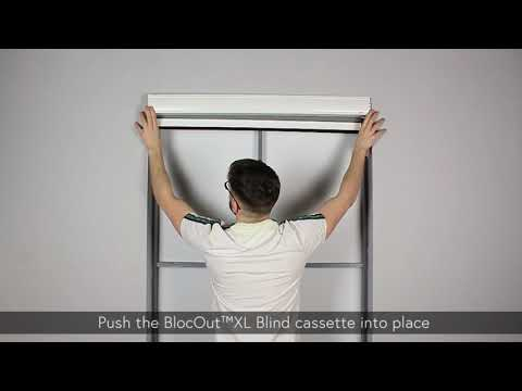 How to Install - BlocOut Blind XL - Recess Mount