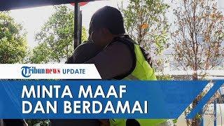 Sambil Menangis, Pengendara Mobil yang Buat Polisi Menempel di Kap Mobil Minta Maaf dan Berdamai