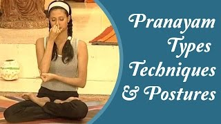 15 Types of Pranayam - Simple & Easy To Done Yoga Asanas At Home | Hindi Yoga Tutorial - Download this Video in MP3, M4A, WEBM, MP4, 3GP