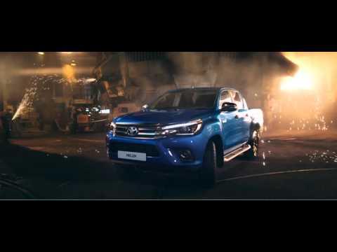 Toyota  Hilux Пикап класса J - рекламное видео 5