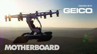 Why Personal Flying Machines Could Be the Future of Commuting