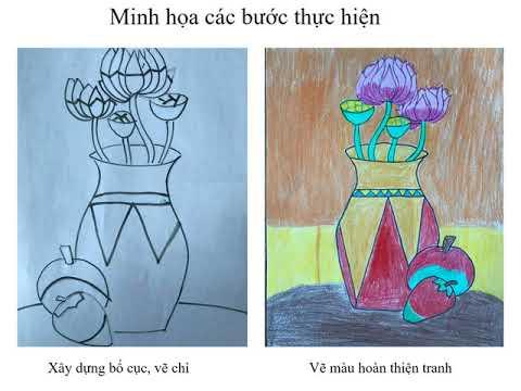 Mĩ thuật 7  video2 vẽ tranh đề tài