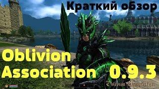 Краткий обзор Oblivion Association 0.9.3. Начало новой игры