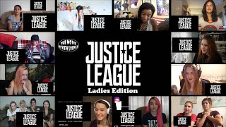 Ladies Edition: Justice League - Comic Con Footage (Reaction Mashup)