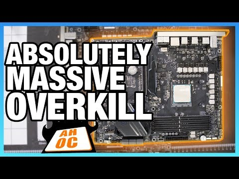 Massive Overkill: ASUS Crosshair VII Hero X470 Motherboard Review