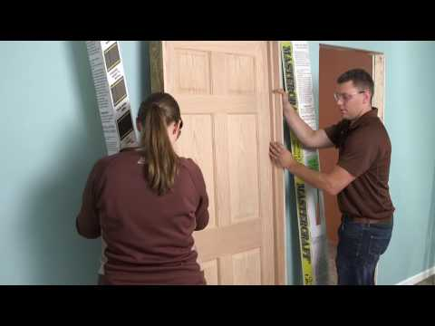 MASTERCRAFT Interior Doors > Interior Doors > Installing a Mastercraft Interior Single Door